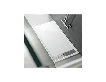 Piatto doccia con griglia in acciaio INOX